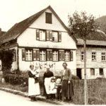 150 Familie des Ratschreibers Matthäus Oberfell - wahrscheinlich aus der Bilderserie von 1926