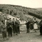 163 Ausflug/Wanderung der Musikkkapelle um 1950