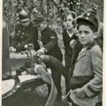 196 Feuerwehrprobe um 1950 mit Philipp Harter