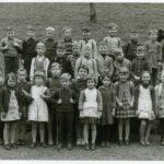 213 Schülerjahrgang um 1955 mit Bernhard Schillinger um 1965