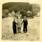 """214 Franziska Armbruster mit Otmar und Bernd Bonath vom """"Walkenstein"""""""