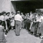 218 Kirchenchor 1955