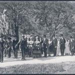 232 Hochzeitszug Alt-Hirschwirt Junghanns um 1920