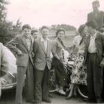 251 Ausflug der Fußballer um 1960 mit Siggi Decker und Erwin Armbruster