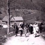 288 Ausflug des Kirchenchores in den Langenbach um 1960