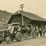 305 Hochzeitskutsche um 1950