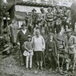 309 Wanderer des Schwarzwaldvereins um 1965