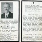 318 Totenbildchen von Johannes Herrmann Grünach