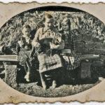 321 Gertrud Bonath Hildegard Echle, geb. Herrmann und Lydia Nickstadt, geb. Springmann um 1930