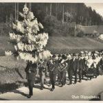 332 Ak Hochzeitszug in Bad Rippoldsau