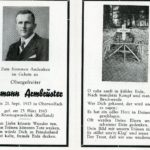 339 Totengedenken Hermann Armbruster Soldat