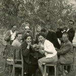 343 Mitteltäler beim Feiern um 1960