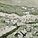 352 Weinterlicher Ortsteil Kirche um 1950