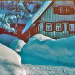 354 Winter im Rankach um 1960