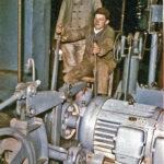 363 Bergmann Otto Groß und Steiger Schmid in der Grube Clara