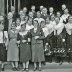 376 Kirchenchor vonSt. Bartholomäus zu Zeiten von Pfarrer Josef Lang also vor dem Zweiten Weltkrieg