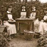 381 Schwestern im Kloster Bingen um 1940