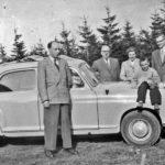 393 Autotour zum Brandenkopf um 1950