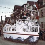 405 Fasnetsumzug in Offenburg um 1960
