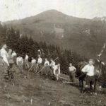 410 Feldarbeit im Gelbach um 1930