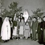 412 Theatergruppe um 1960 mit Pfarrer Anton Rapp