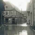 417 Hochwasser Wolfach Vorstadt 1919