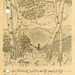 419 Karte von Soldat Franz Schrempp um 1941