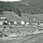 420 um 1980 erste Erdarbeiten auf Mühlengrün