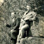 424 Hermann Schmider (links) und Alfons Rauber (Fußballfreunde, die beide vor Gründung des SVO bis 1950 beim FC Wolfach spielten.)