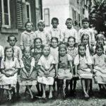 425 Jahrgang 1931/32 der Schule im Ortsteil Kirche