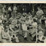 431 Wanderung des Sportvereins Oberwolfach um 1955 wohl an Christi Himmelfahrt