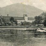 432 Ak mit Kinzig und Wolfacher Schloss um 1930