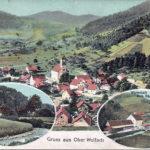 445 Ak Ortsteil Kirche um 1920