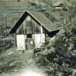 445 Waschhäusle des Bächlehofes im Frohnbach um 1935