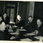 447 Gemeinderat um 1965 mit Bürgermeister Willi Rauber