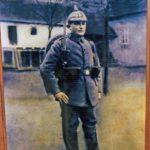 459 Fridolin Sum (Waldbasche?) als Soldat im Ersten Weltkrieg