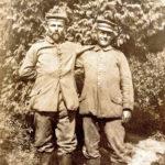 460a Gottlied (Grünach) und Richard Schuler - Soldaten im Ersten Weltkrieg