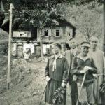 465 Wanderung im Holzwald um 1960