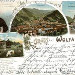 484 Ak Wolfach um 1920