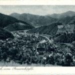 485 Ak Blick vom Frauenköpfle auf Wolfach um 1930