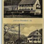 """499 Anischtskarte um 1935 mit dem """"Bären"""" in Rankach"""