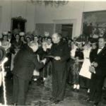 500 Neujahrsempfang beim Staatspräsidenten Leo Wohleb um 1950 - auch Klara Huber, verh. Griesinger war damals mit dabei!