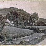 501 Ak Blick in den Rankach von 1932