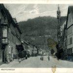 503 Ak historisches Stadtbild Wolfach um 1917