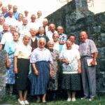 504 Oberwolfacher Seniorenwerk mit Pfarrer Franz Rees um 1990