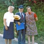 522 Otte Echle mit Ehefrau Hildegard und Madame Hauck aus Still