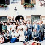 528 Ausflug des Kirchenchores um 1970
