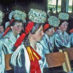 531 Mädchen mit Schäppeln um 1960