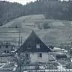 545 Blick auf den unbebauten Kirchberg um 1950