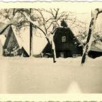 551 Schneereicher Winter um 1950 auf Grünach